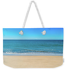 Empty Beach Weekender Tote Bag