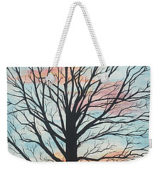 Empty Beauty Weekender Tote Bag