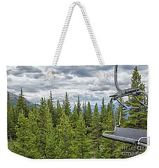 Weekender Tote Bag featuring the photograph Empty Gondola by Patricia Hofmeester