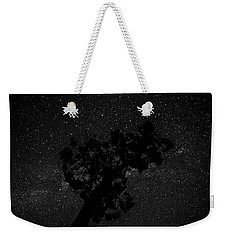 Weekender Tote Bag featuring the photograph Empty Night Tree by T Brian Jones