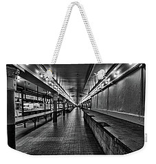 Empty Pike Place Market In Seattle Weekender Tote Bag