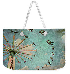 Empty Seats Weekender Tote Bag by Tara Turner