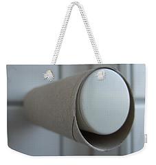 Empty Toilet Paper Roll Weekender Tote Bag
