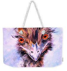 Emu Eyes Weekender Tote Bag