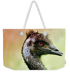 Emu Love Weekender Tote Bag by Michael Cinnamond