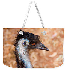 Emu Profile Weekender Tote Bag by Mike  Dawson