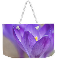 En Attendant Le Printemps Weekender Tote Bag