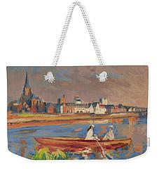 En Bateau De Renoir Sur La Meuse A Maestricht Weekender Tote Bag