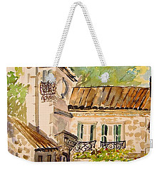 En Plein Air At Moulin De La Roque France Weekender Tote Bag