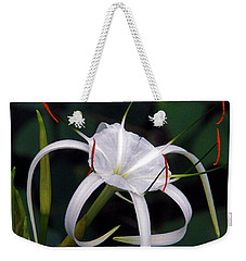 En Pointe Weekender Tote Bag by Byron Varvarigos