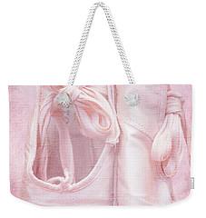 En Pointe Weekender Tote Bag by Iryna Goodall