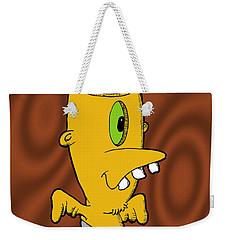 Encephalon Weekender Tote Bag by Uncle J's Monsters