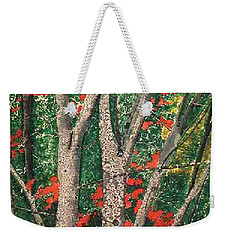 Enchanted Birches Weekender Tote Bag
