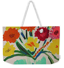 Enchanted Blossoms Weekender Tote Bag