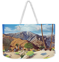 Enchanted Desert Weekender Tote Bag by Snake Jagger
