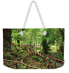 Weekender Tote Bag featuring the photograph Enchanted Forest by Aidan Moran