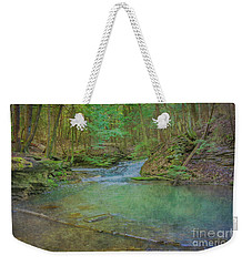 Weekender Tote Bag featuring the digital art Enchanted Forest Two by Randy Steele