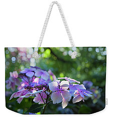 Weekender Tote Bag featuring the photograph Enchanted Hydrangea by Theresa Tahara