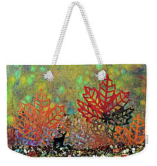 Enchanted Pathways Weekender Tote Bag by Donna Blackhall