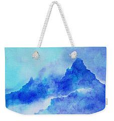 Weekender Tote Bag featuring the digital art Enchanted Scenery #4 by Klara Acel