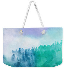 Weekender Tote Bag featuring the photograph Enchanted Scenery by Klara Acel