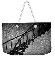Weekender Tote Bag featuring the photograph Enchanted Staircase II - Currituck Lighthouse by David Sutton