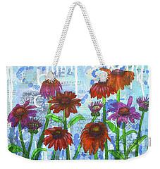 Enchanting Echinacea Weekender Tote Bag
