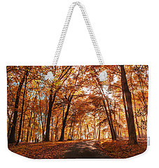 Enchanting Fall Weekender Tote Bag by Rima Biswas