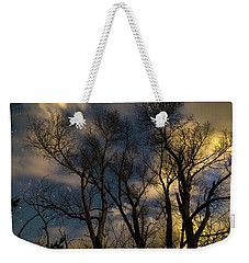 Weekender Tote Bag featuring the photograph Enchanting Night by James BO Insogna