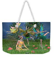 Enchanting Souls Weekender Tote Bag