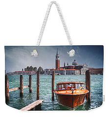 Enchanting Venice Weekender Tote Bag by Carol Japp
