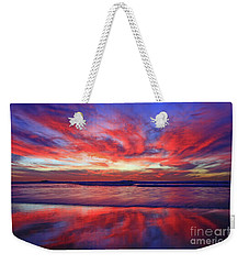 Weekender Tote Bag featuring the photograph Encinitas Energy by John F Tsumas