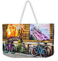 Bicycle Parking Weekender Tote Bag