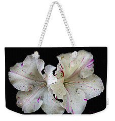 Encore Azaleas Weekender Tote Bag by James C Thomas