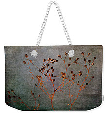 Weekender Tote Bag featuring the photograph End And Beginning by Randi Grace Nilsberg