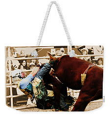 End Of A Helluva Ride Weekender Tote Bag