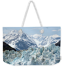 Glaciers End Of A Journey Weekender Tote Bag