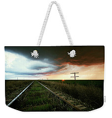 End Of A Stormy Day Weekender Tote Bag