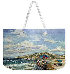 End Of Beach Day  Weekender Tote Bag