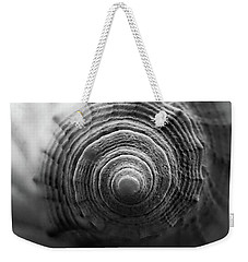 End Of Conch Black And White Weekender Tote Bag