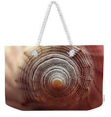End Of Conch Weekender Tote Bag