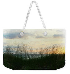 End Of Day At Pentwater Weekender Tote Bag