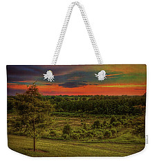 Weekender Tote Bag featuring the photograph End Of Day by Lewis Mann