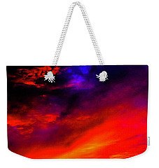 End Of Day Weekender Tote Bag by Michael Nowotny
