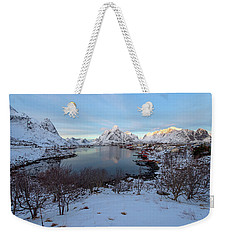 End Of Day, Reine, Lofoten,  Weekender Tote Bag