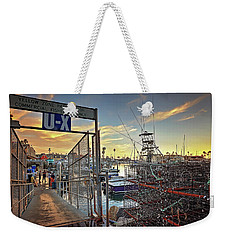 End Of Fishing Day Weekender Tote Bag