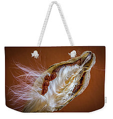 Weekender Tote Bag featuring the photograph End Of Season by Ronald Santini