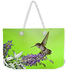 End Of Summer Hummingbird 2016 Weekender Tote Bag