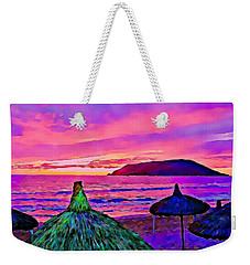 End Of The Beach Day In Mazatlan Weekender Tote Bag