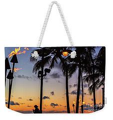 End Of The Beutiful Day.hawaii Weekender Tote Bag